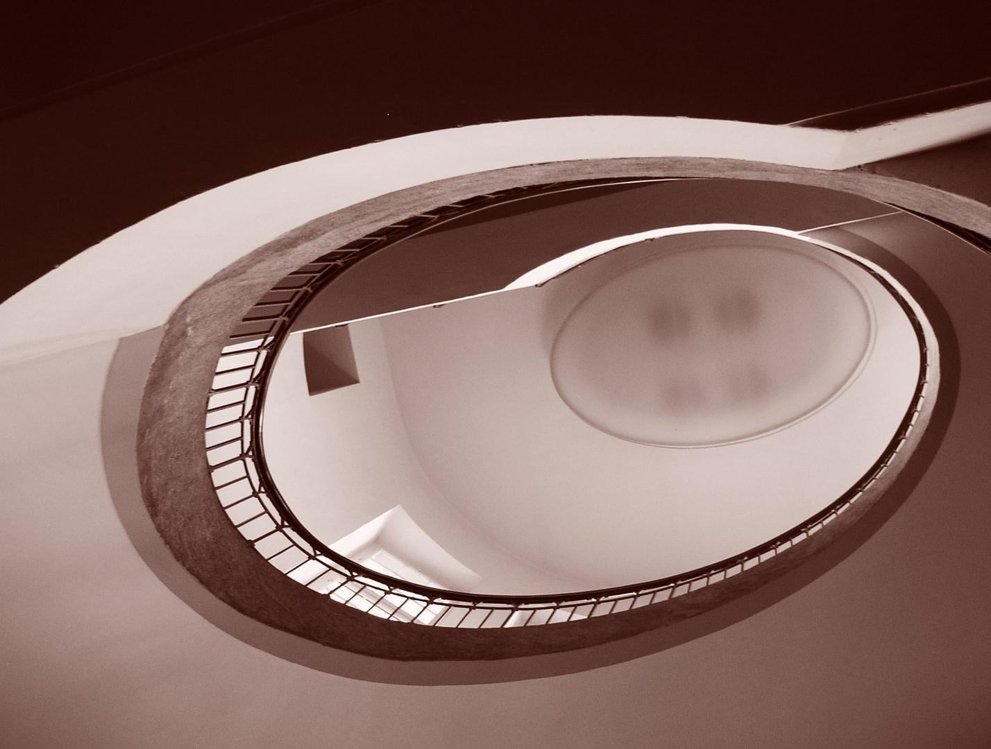 Schnecken-Treppe
