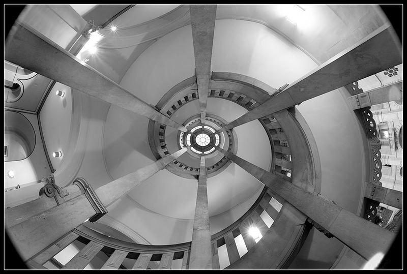Schnecken-, Treppen- bzw. Rathaus