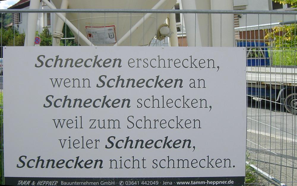 Schnecklich-Schleckig