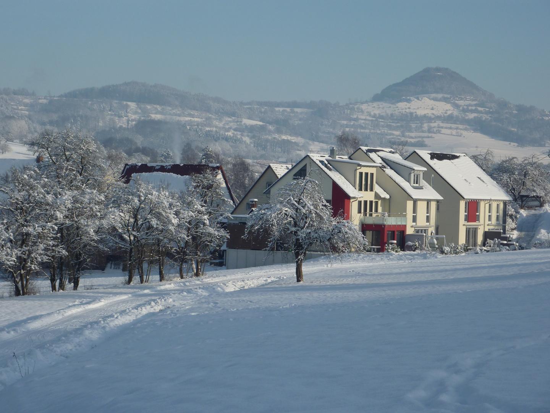 Schnee auf dem Kaiserberg