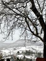 Schnee auf der Achalm