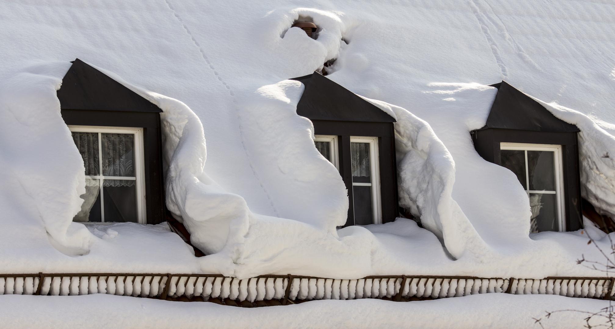 Schnee-Dämmung