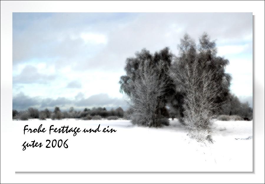 Schnee für die Kinder....