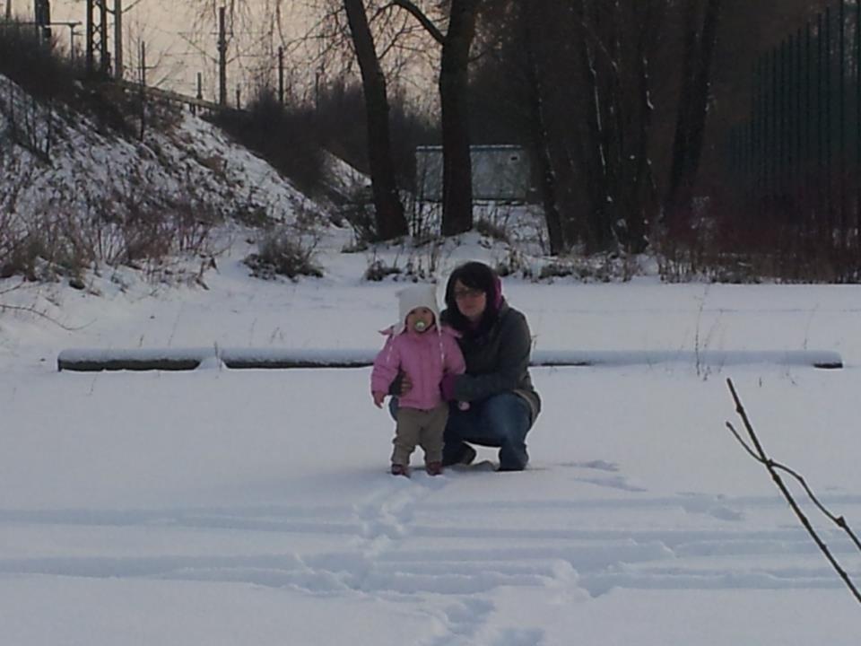 Schnee genießen