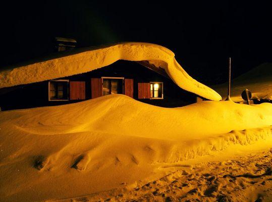 Schnee Haus