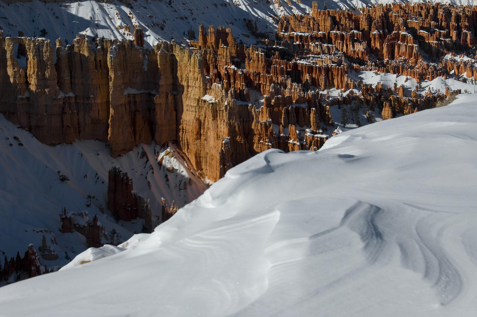 Schnee im Bryce Canyon 3