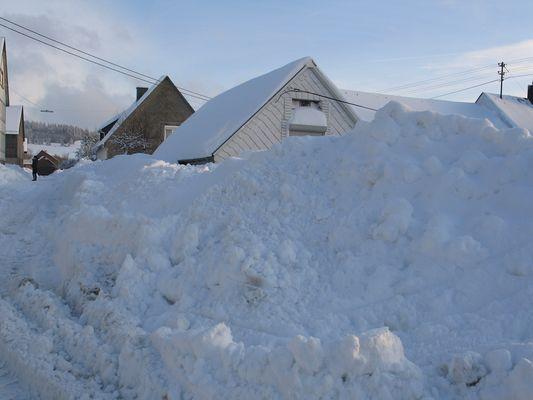 Schnee im Januar 2010