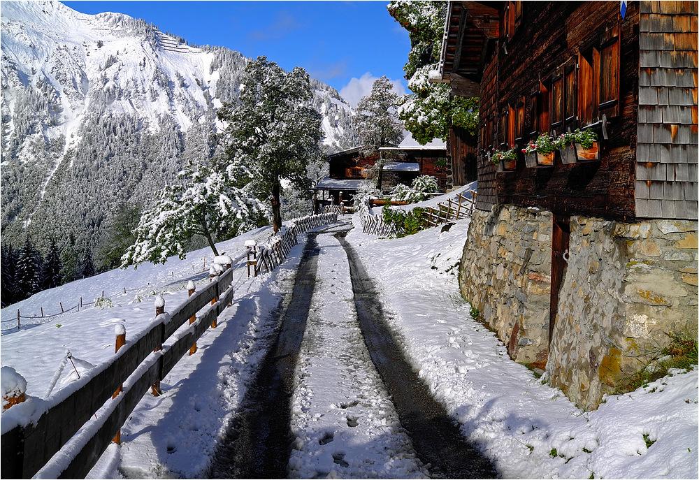 Schnee in Gerstruben 2