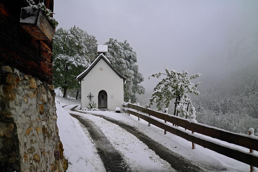 Schnee in Gerstruben