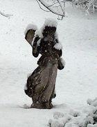 Schnee in Goldach SG