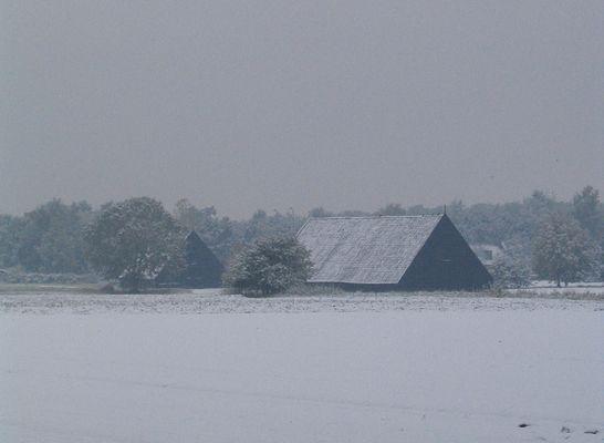 Schnee in Holland.