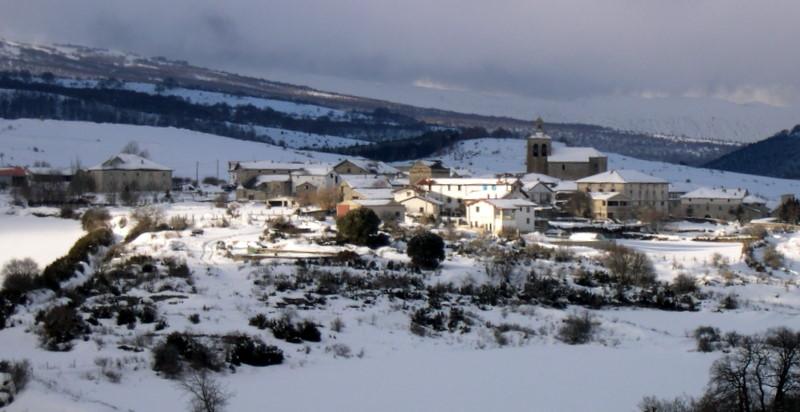 Schnee in Navarra