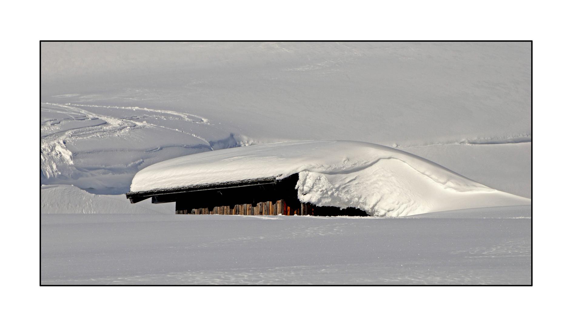 Schnee in seiner schönsten Form