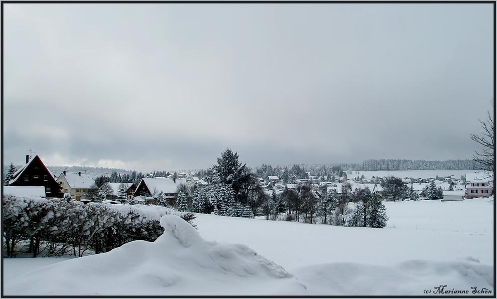 Schnee - Nachschlag...