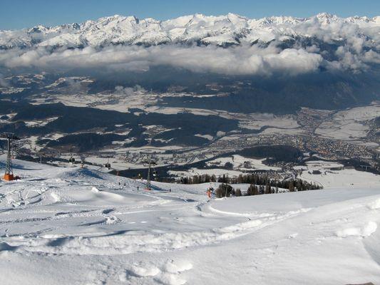 Schnee, Piste und Natur