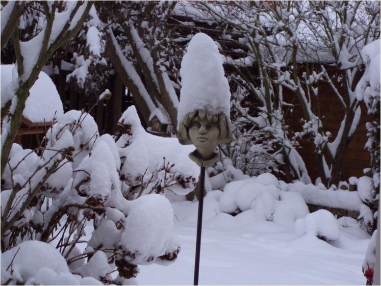Schnee ... so weit das Auge reicht