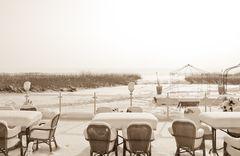 Schnee-Terrasse
