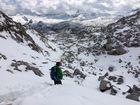 Schnee über den Steinernen Meer