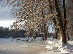 Schnee-Ufer