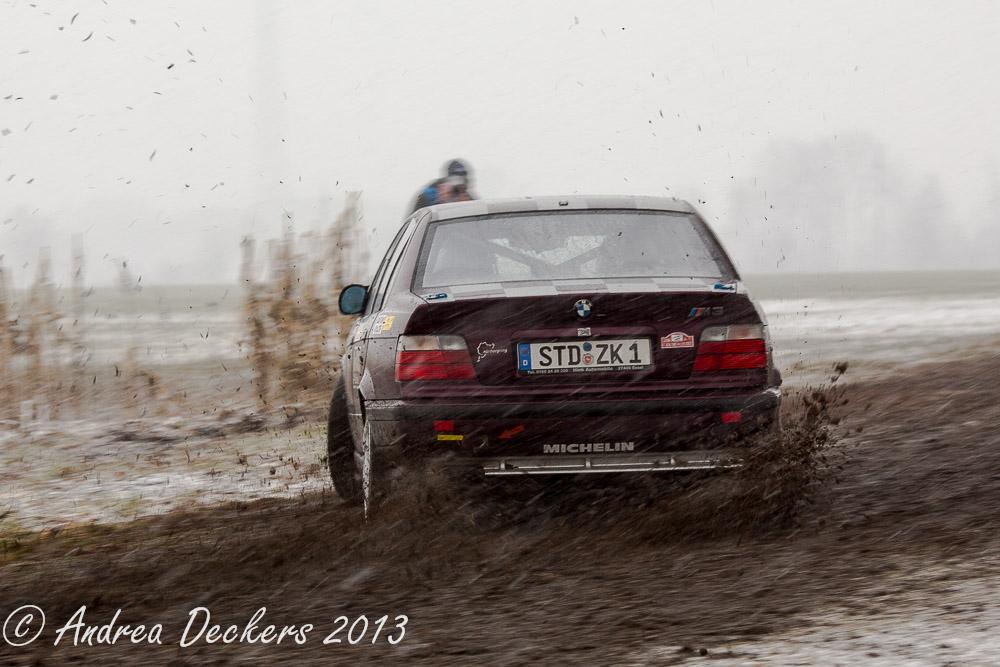 Schnee- und Matsch-Rallye in Stade V