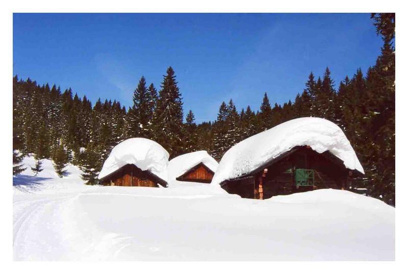 Schnee v. gestern