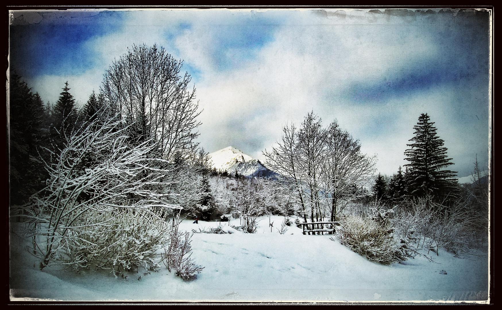 Schnee von gestern .....