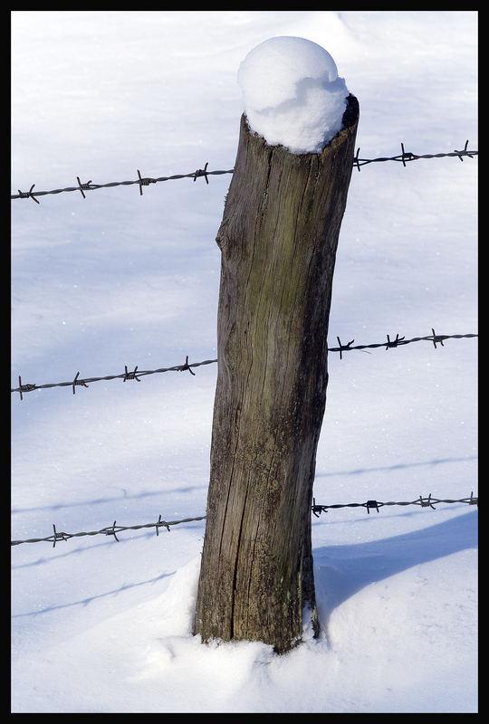 Schnee Zauber