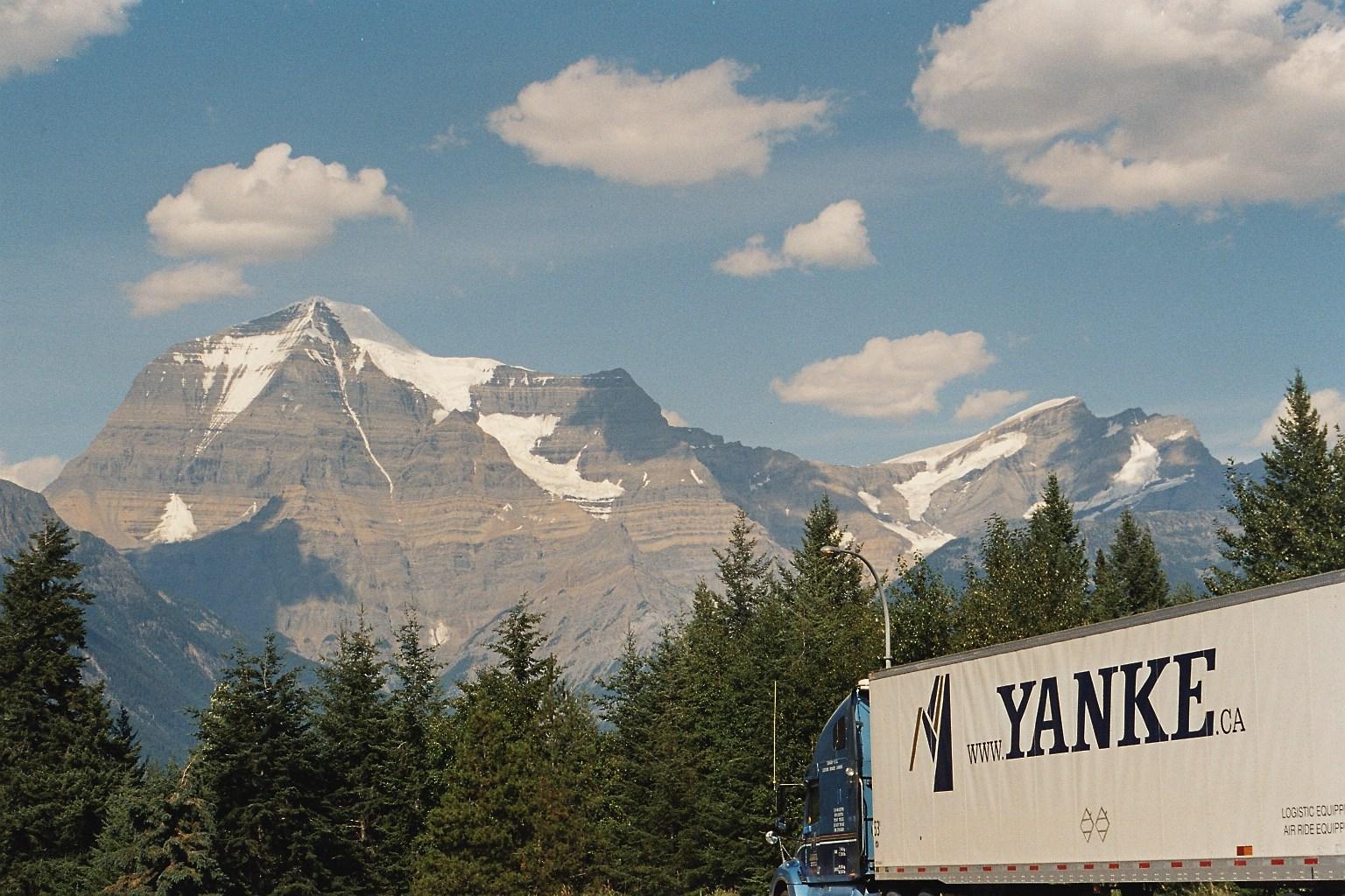 Schneebedeckte Rocky-Montains