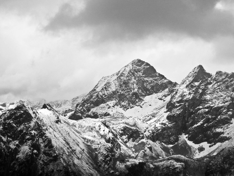 Schneeberge bei Ramsau am Dachstein