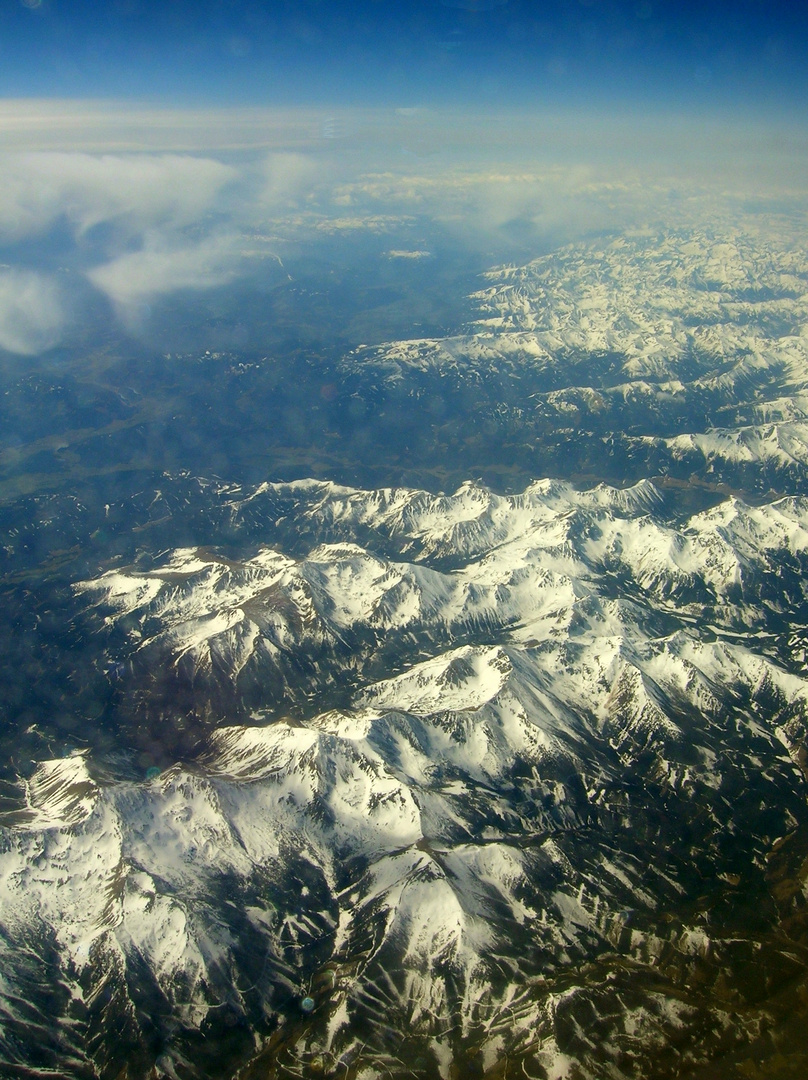 Schneeberge - By Air