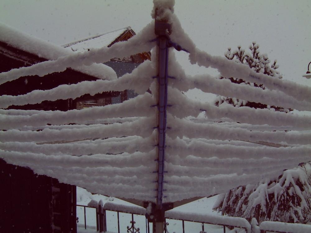 Schneechaos in der Eifel