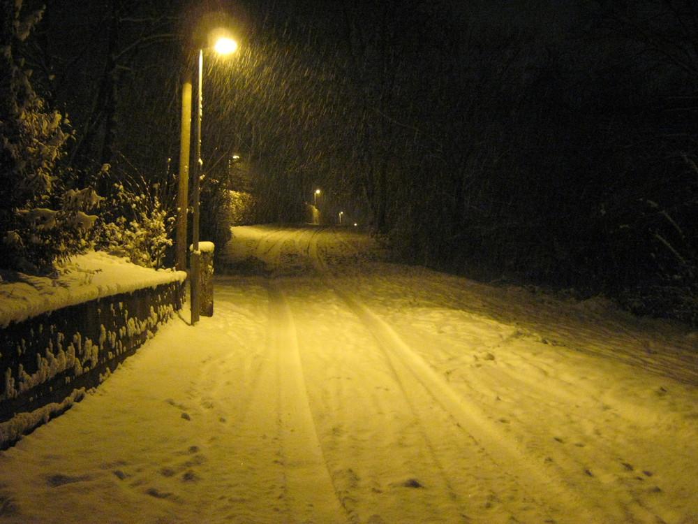 Schnee......endlich wieder mal Schnee.........juhäää.....!!!! :-D