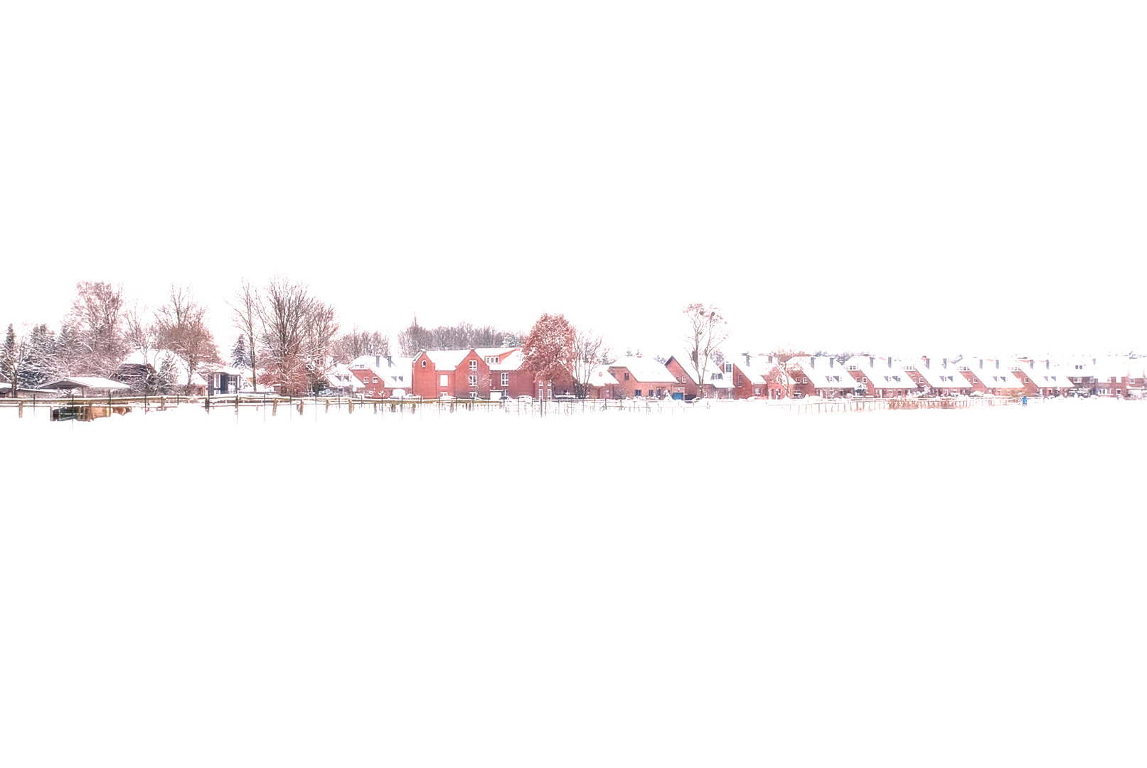 Schneefelder