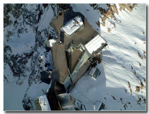 Schneefernerhaus (Zugspitze) von oben