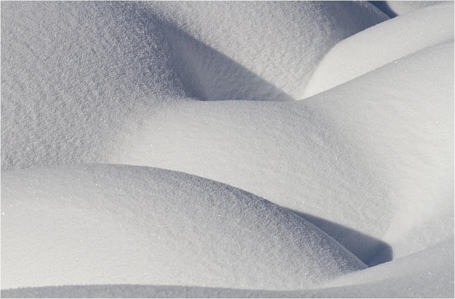 Schneeformen