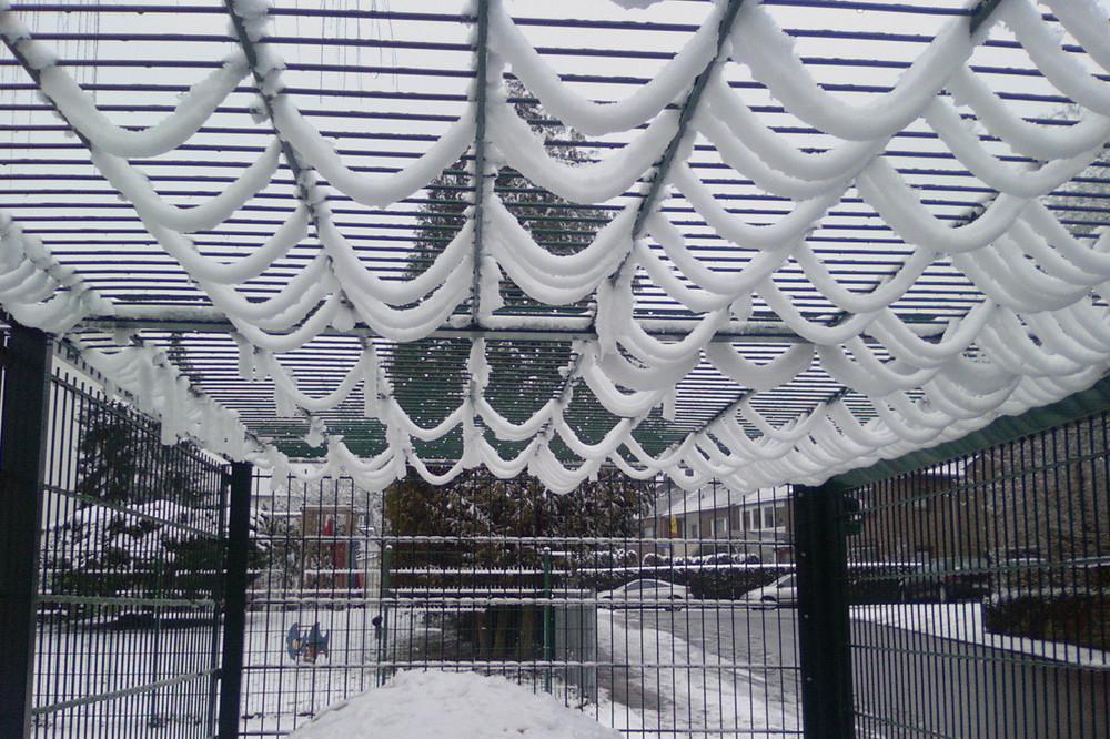 Schneegitter oder Gitterschnee