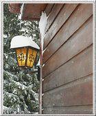 Schneehaupt- Außenleuchte