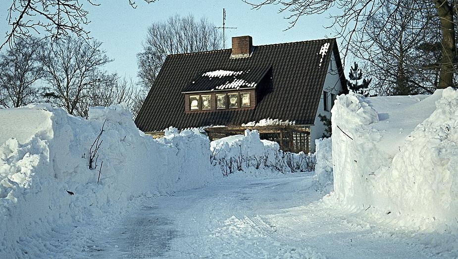 Schneekatastrophe 1978 in Norddeutschland Foto & Bild ...