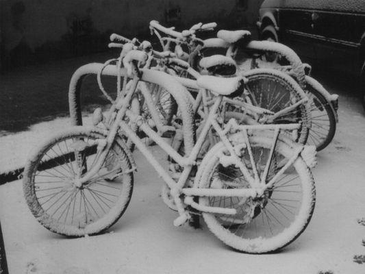 Schneekunst im März 2003