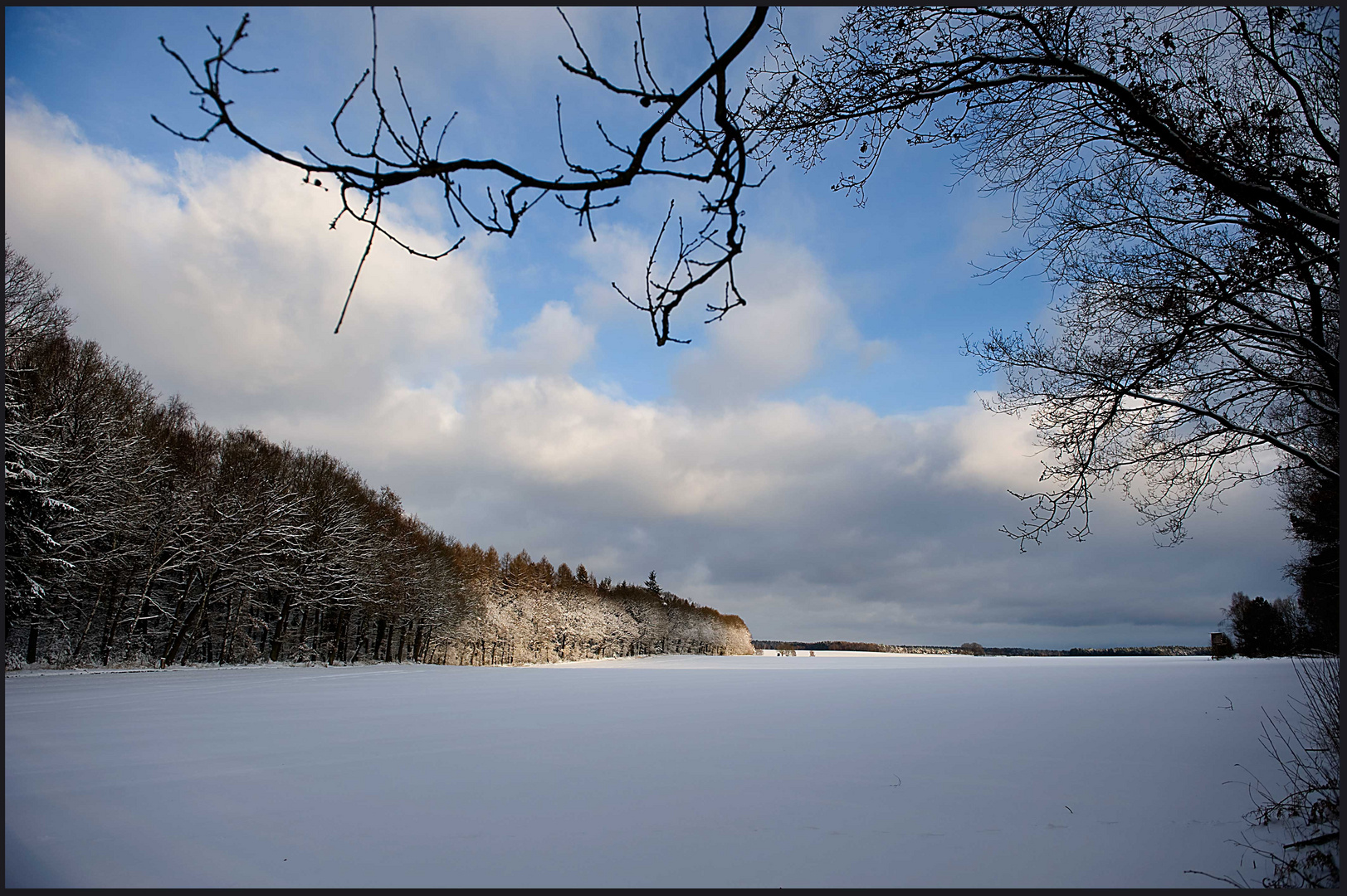 Schneelandschaft...