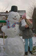 Schneemann Größenvergleich