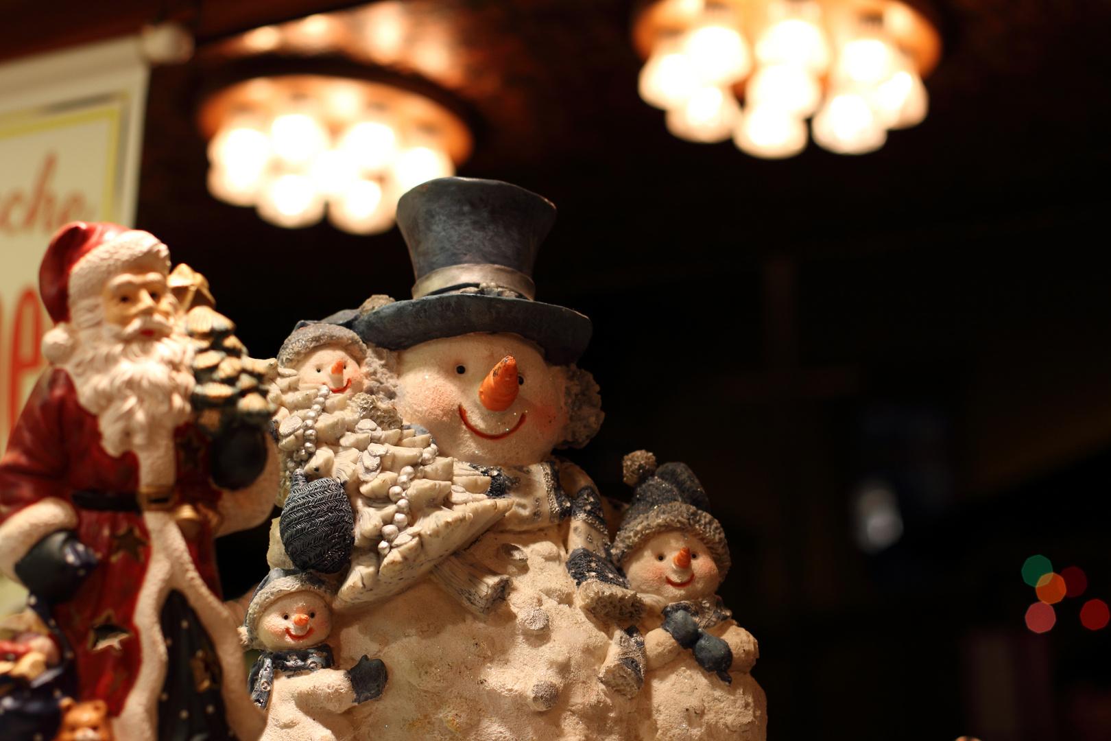 Schneemann - Weihnachtsmarkt Langen Hessen