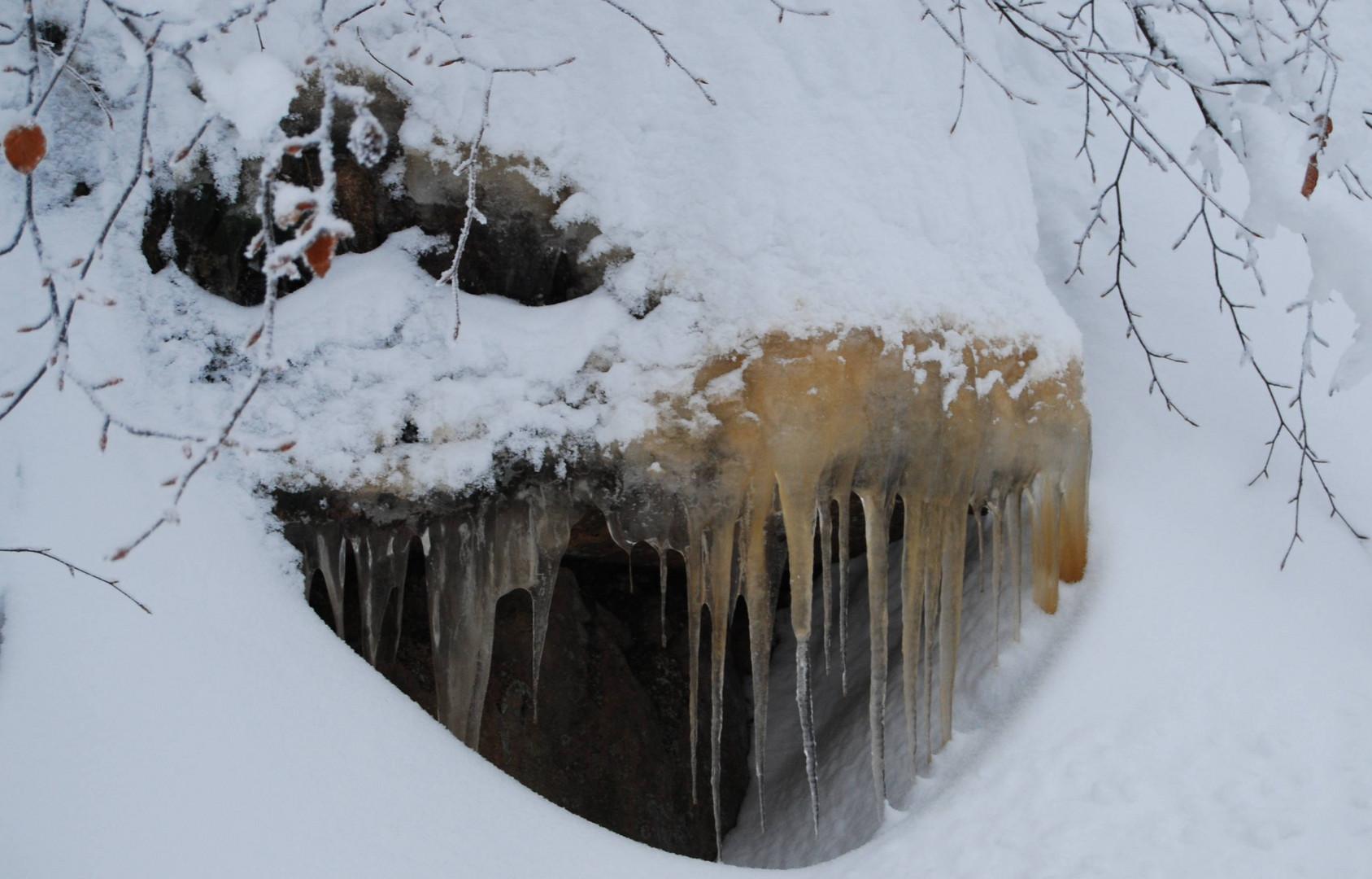 Schneemonster..