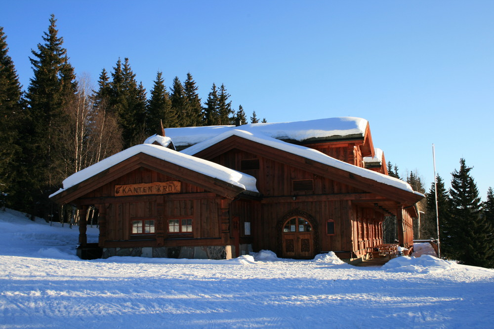Schneeparadies Norwegen