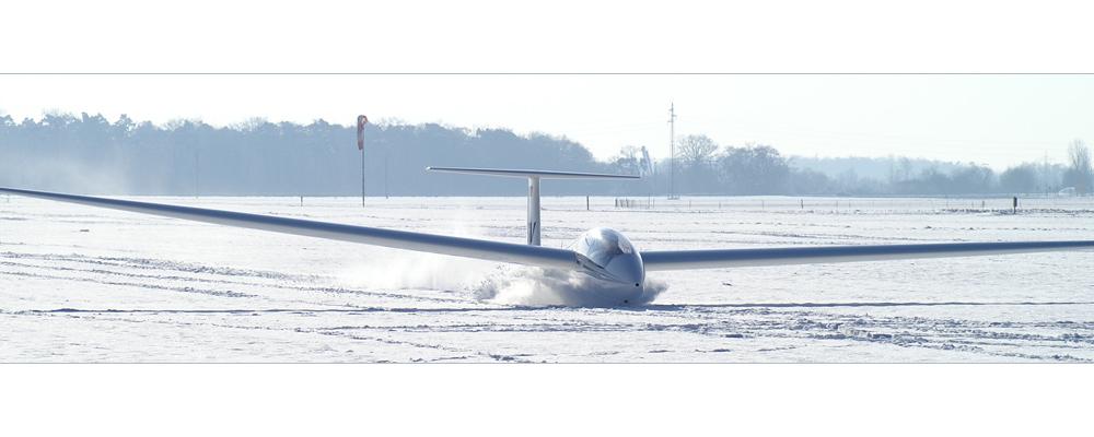 Schnee(p)flug