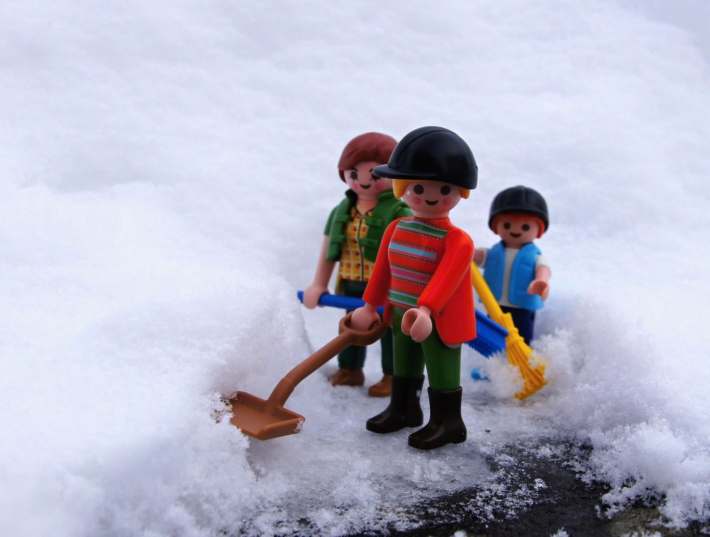 Schneeräumdienst