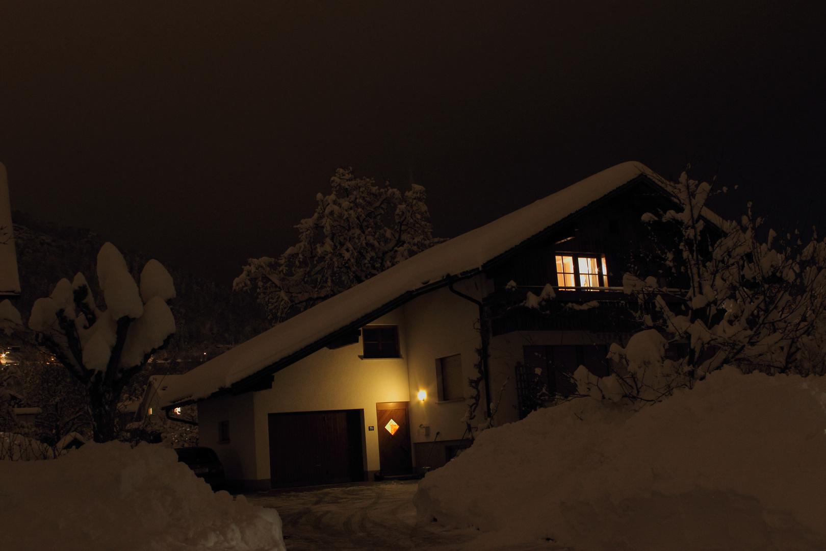 Schneerekord in Bregenz