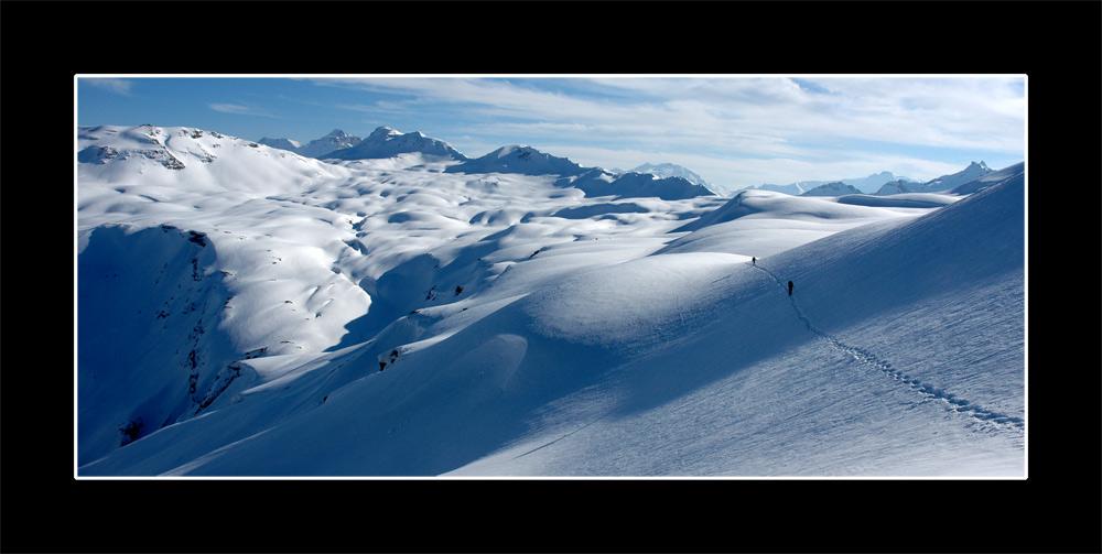 Schneeschuhour Spitzmeilen