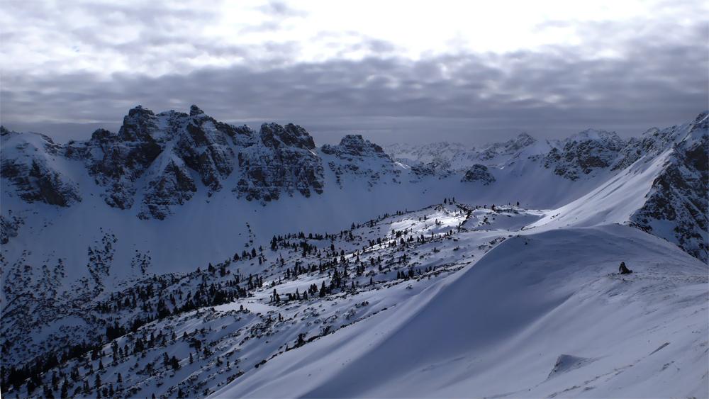 Schneeschuhtour im Tannheimer Tal