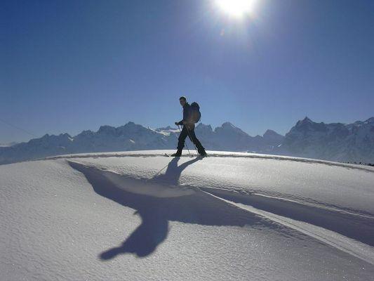 Schneeschuhtour in der Innerschweiz